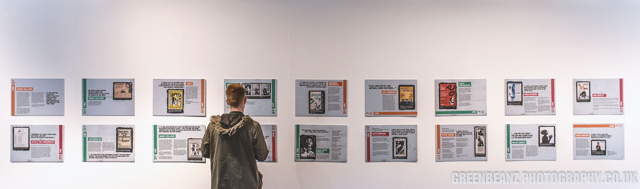 APPLES AND SNAKES 35 Years : Poetry Pioneers exhibition at Ocean Studios