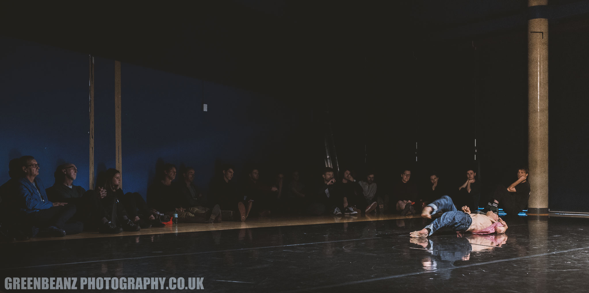 Photograph of Disabled dancer Kevin French in motion UK Dance Photography
