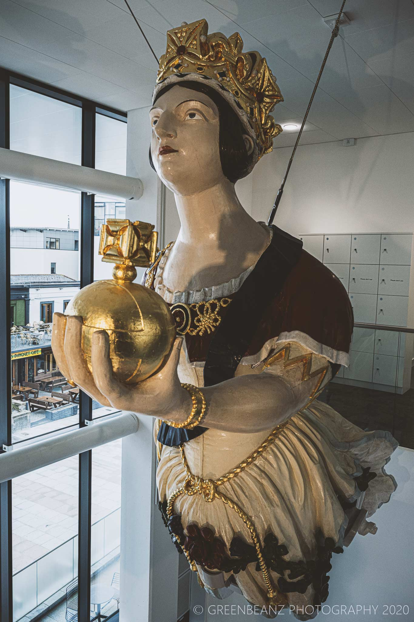 Figurehead at Plymouth's The Box Musem