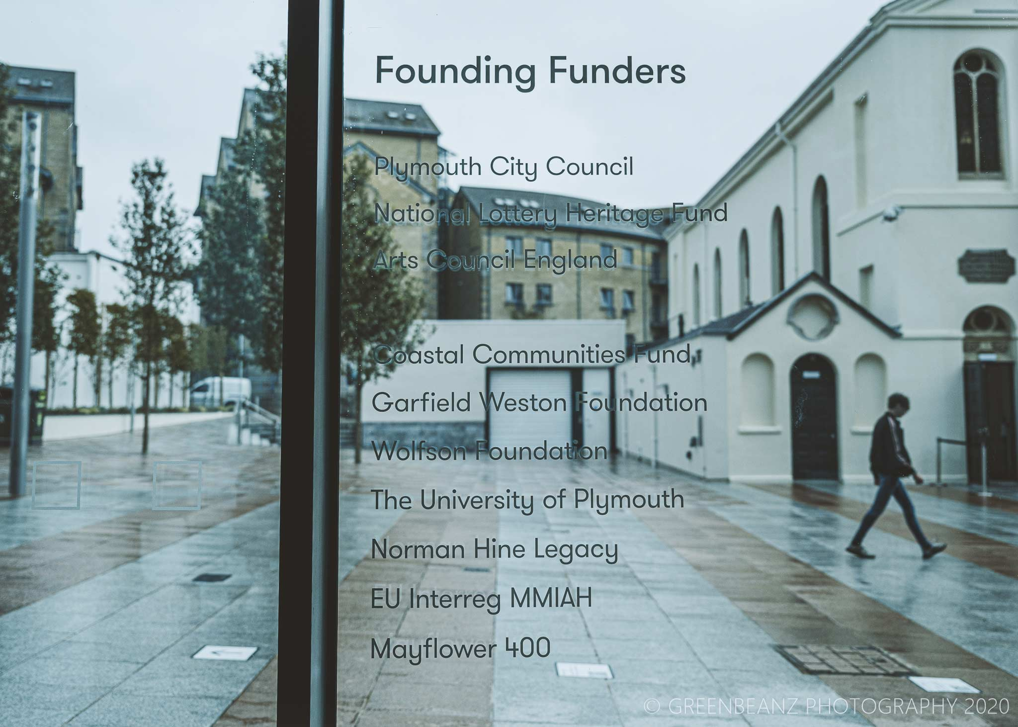 Plymouth's The Box Musems founding funders