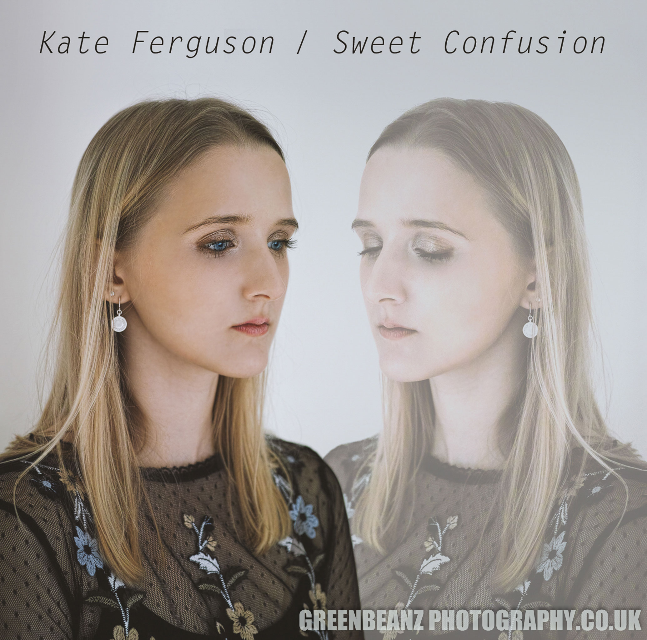 Kate Ferguson 'Sweet Confusion' UK CD artwork production in Plymouth