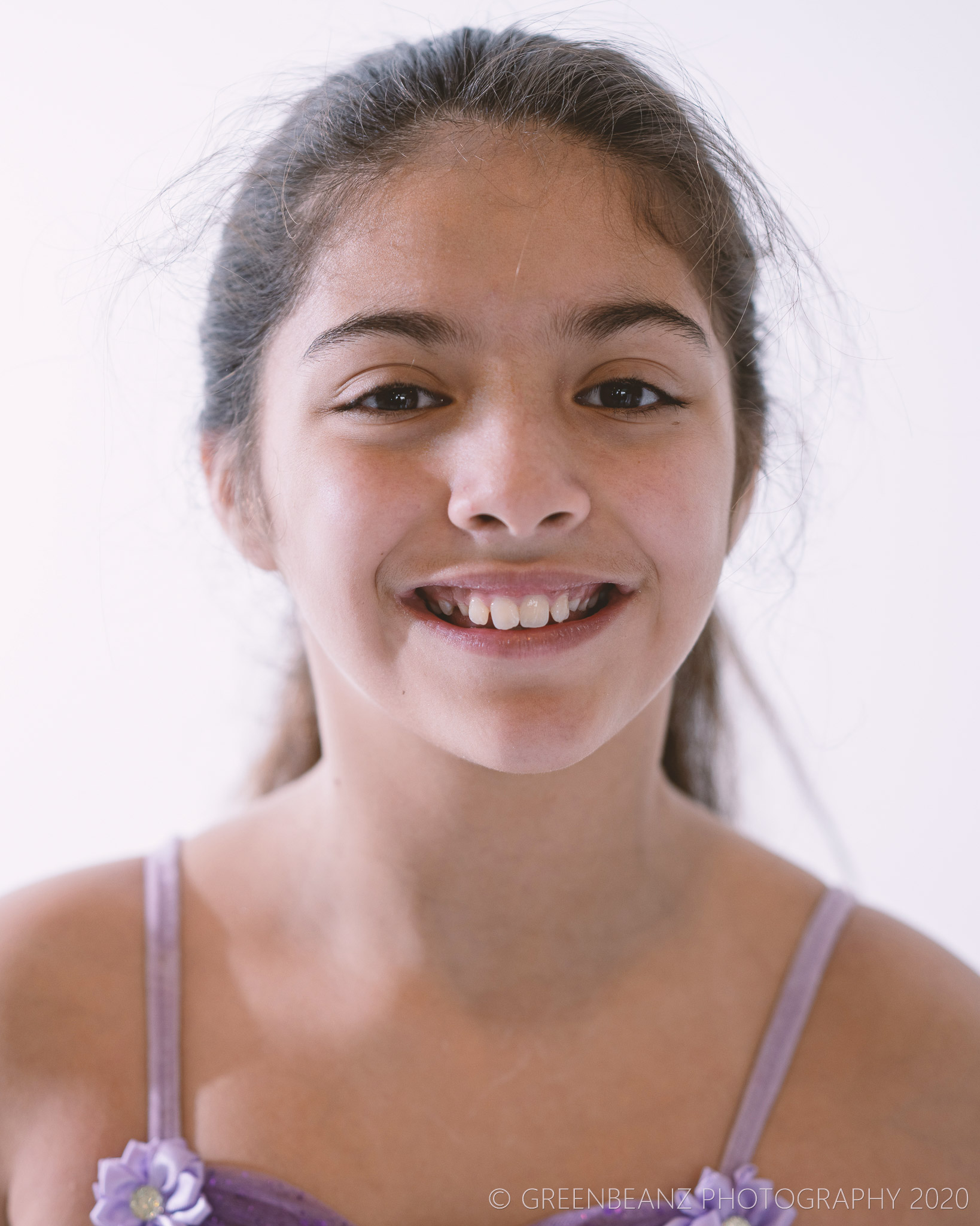 Young Actress poses for headshot in Plymouth