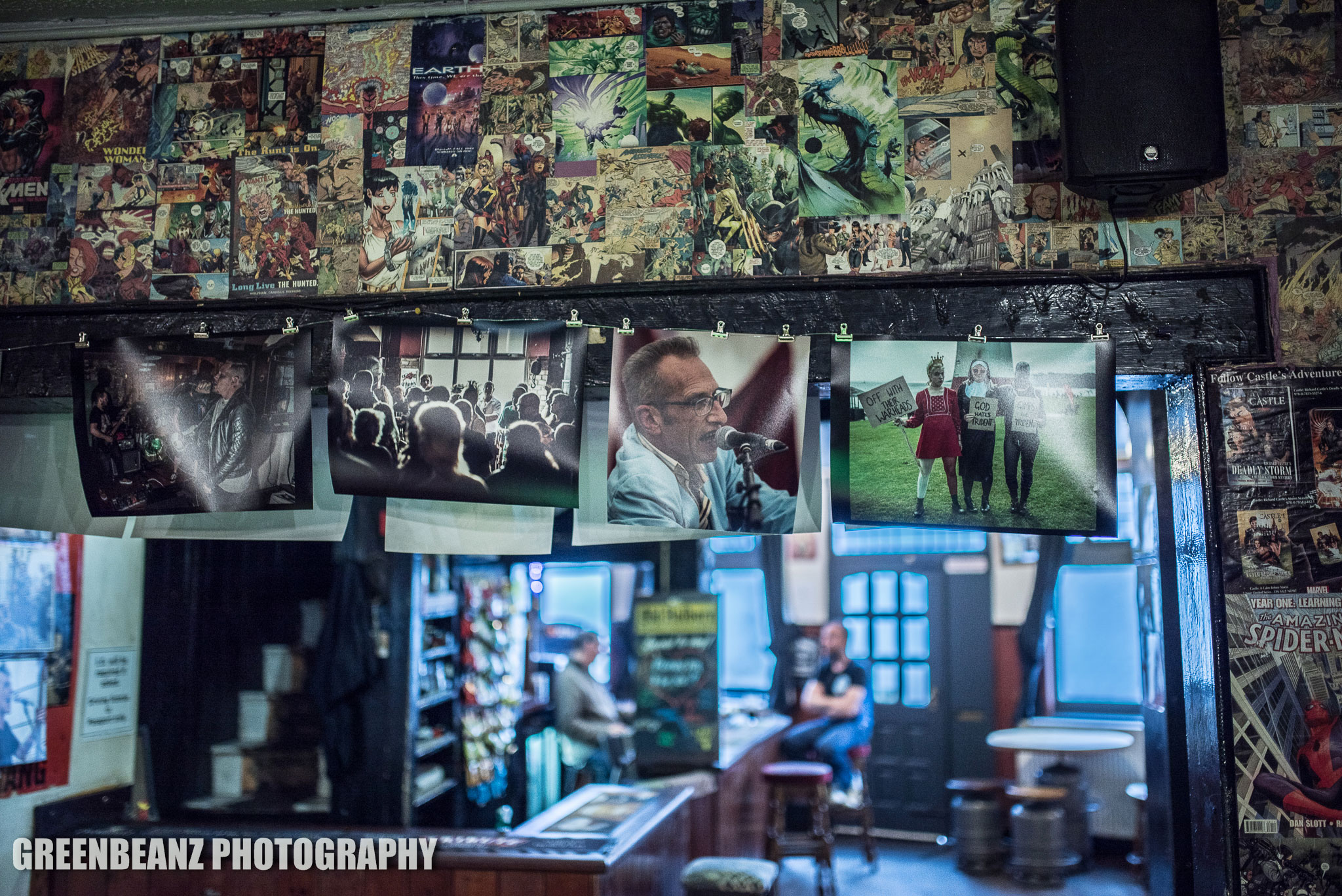 Plymouth Music Photography exhibition at the Nowhere Inn