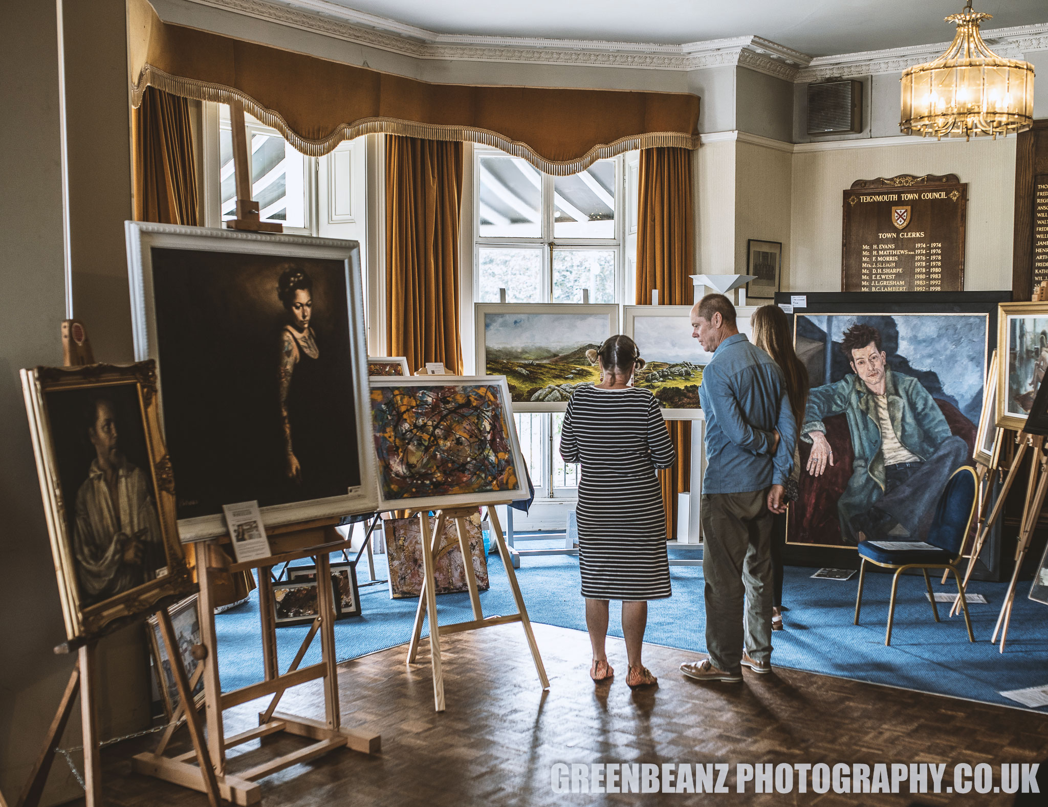 The Reuben Lenkiewicz Arts Festival at Bitton House in Teignmouth Devon 201
