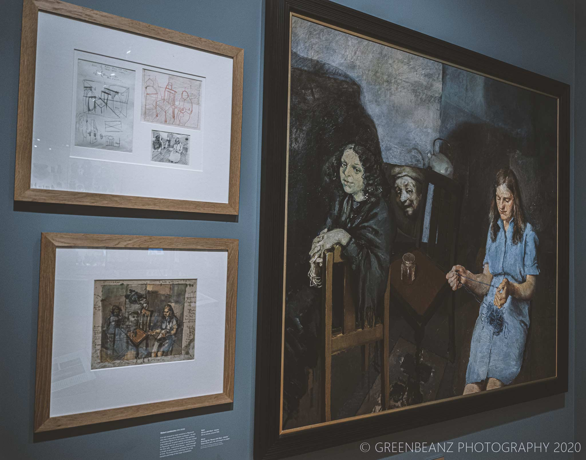 Robert Lenkiewicz's 'Mouse With Wool' at Plymouth's The Box Musems Art Collection