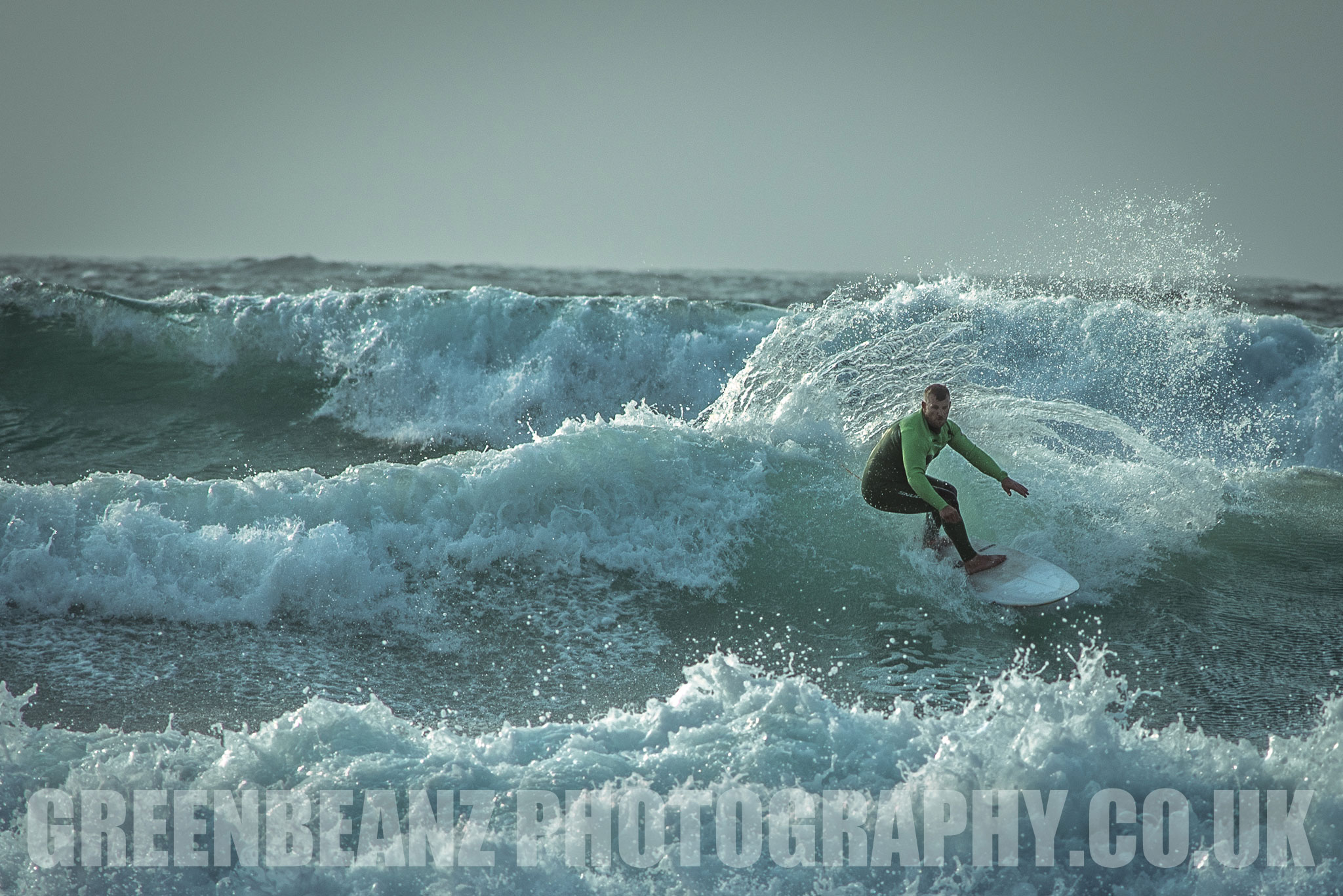 Surfer Photograph from Devon Photographer Greenbeanz