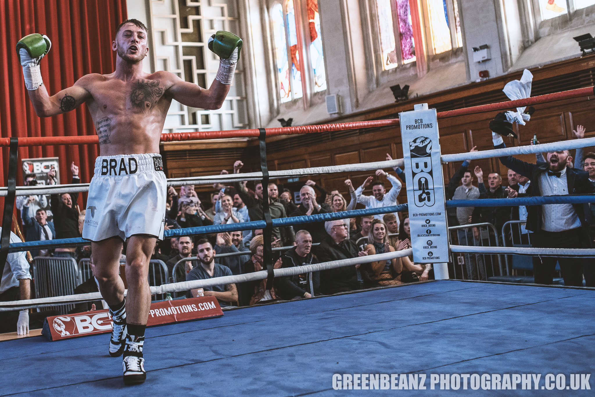 Brad Pauls UK boxing photos