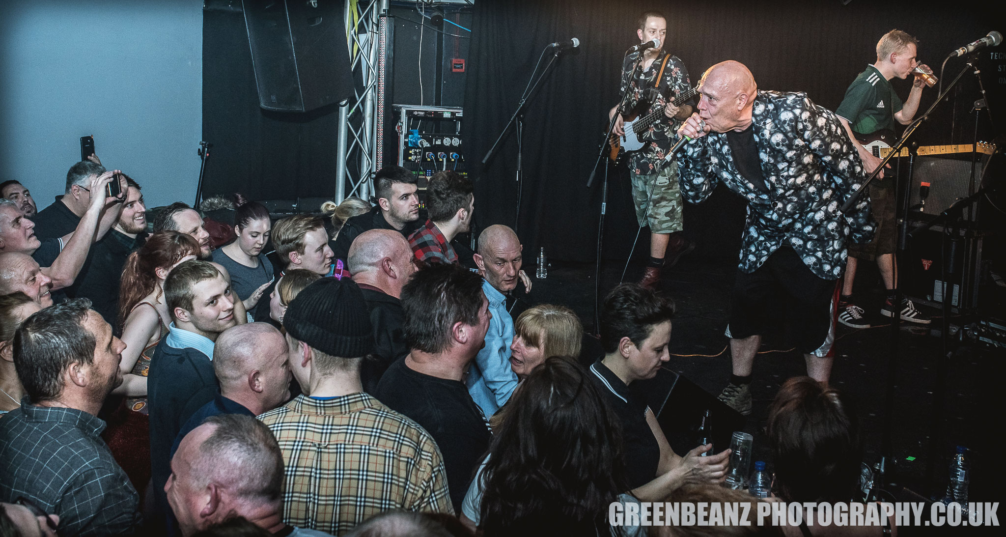 Buster Bloodvessel and addresses Plymouth Ska Fans in 2018