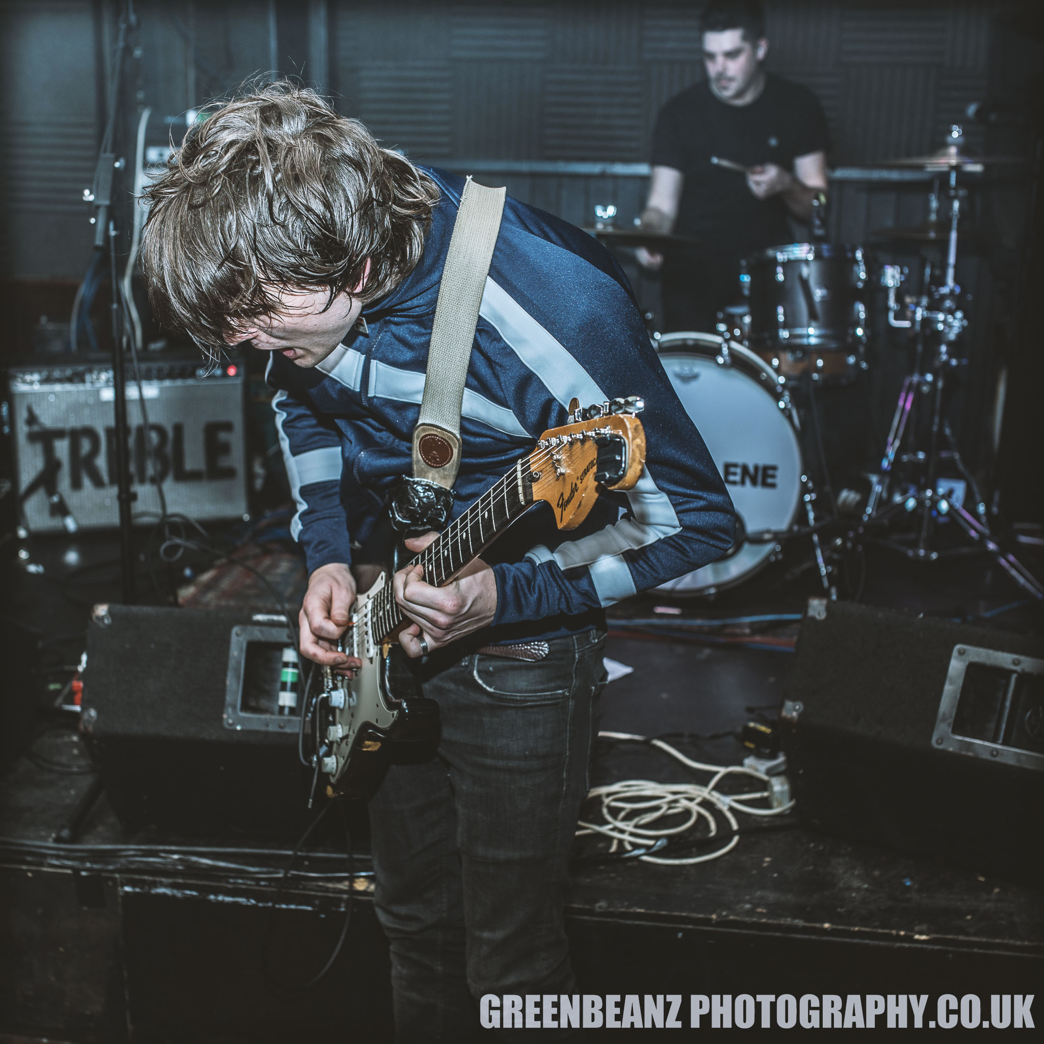 Jack Jones of Trampolene shreds in nice threads at The Junction Plymouth