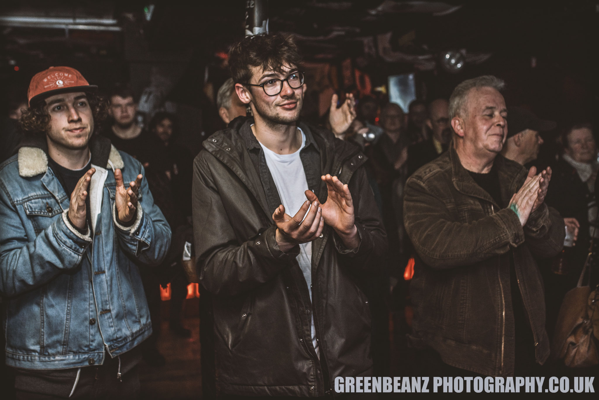 Plymouth Roots/Folk Fans in 2018 at Underground in Plymouth