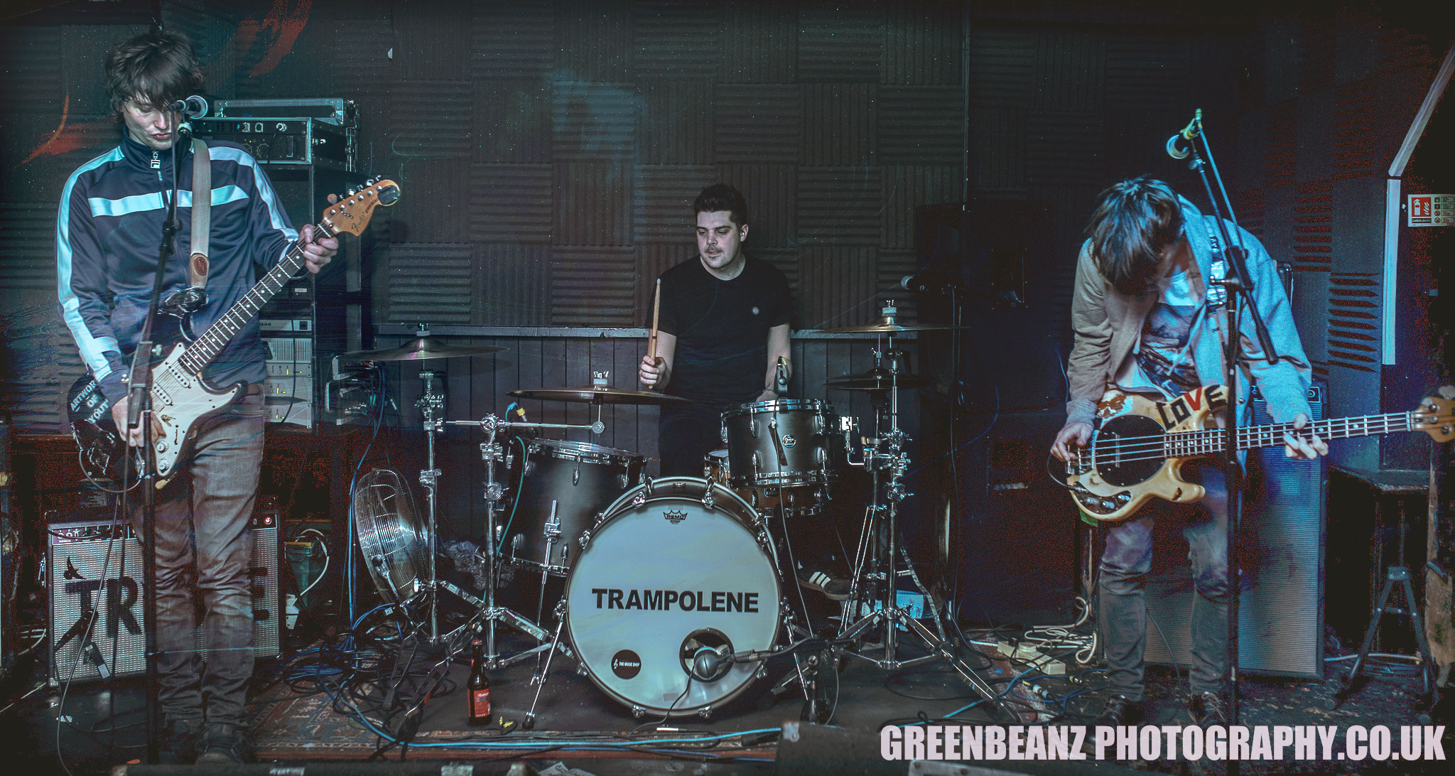 Trampolene at The Junction Plymouth 10th April 2018