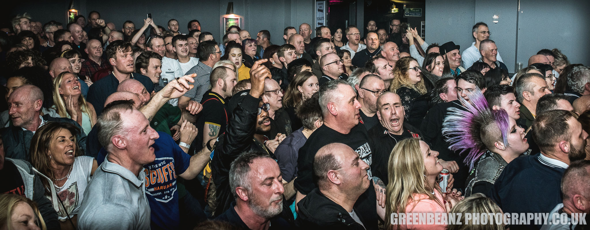 UK Ska Fans skanking to Bad Manners at Plymouth's Hub in 2018